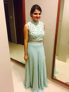 Skirt long and top indian wedding 69 Ideas