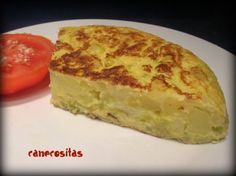 Tortilla light - Recetariocanecositas.com