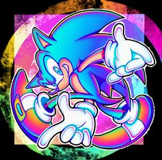 Super Speed, Blue Crew, Sonic Art, Great Artists, Game Art, Aesthetic Wallpapers, Videogames, Really Cool Stuff, Sonic The Hedgehog