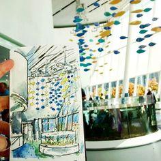 Sketching at Ripley's Aquarium of Canada @ripleysaquaca. 🐋🐬🐟🐠🐡🐙🐢#ripleysaquariumofcanada #toronto #urbansketchers #torontoartist Ripley Aquarium, Urban Sketchers, Sketches, Photo And Video, Artist, Toronto, Canada, Instagram, Drawings