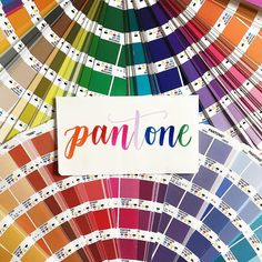 We're into @pantone. As designers we obviously love drooling over Pantone colors at every opportunity. And of course we're always excited about the highly anticipated color of the year. It will be revealed any day now what's it going to be?! (71/100) #100daysofthingswereinto #wereintoit