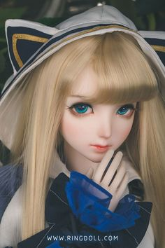RING DOLL DOLL Alice01   総合ドール専門通販サイト - DOLKSTATION(ドルクステーション) Blythe Dolls, Girl Dolls, Barbie Dolls, Smart Doll, Kawaii Doll, Barbie Life, Anime Dolls, Art Costume, Ball Jointed Dolls