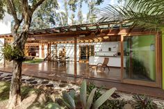 Arquitetura, Architecture, cobertura, madeira, jardim, iluminação natural