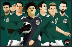 Mucha suerte selección Méxicana #chuckylozano #russia2018 #chicharito #worldcup2018 #worldcup #chucky #art #fifa #deportes #worldwide?