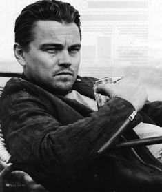 Phenomenally talented, I always admired the beauty of the young man Leonardo DiCaprio was. But I LOVE the look of the man he has become...