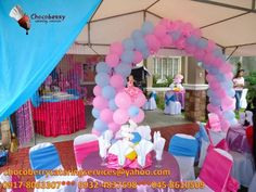 barbie birthday party ideas | Barbie Birthday Party- i so wish we could do something like this