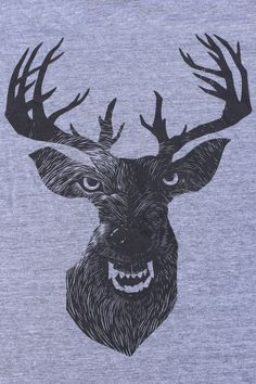 Wolf In Deer T Shirt