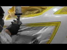 So mischen Sie Clear Coat (Base / Clear) - Spot Repair - Car - Auto Car Paint Repair, Auto Paint, Truck Repair, Fix My Car, Auto Body Work, Auto Collision, Auto Body Repair, Car Restoration, Body Hacks