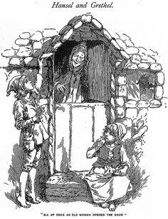 Vintage Print Fairy Tale