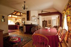 Little Orchard Cottage Dining room, stunningly renovated open plan 300 year old cottage at The Cottages Ireland