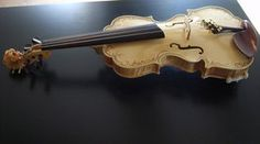17th century model violin just finished by deviantviolins