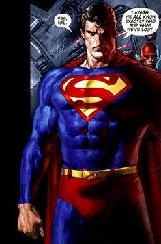 Superman by Mario Cascioli