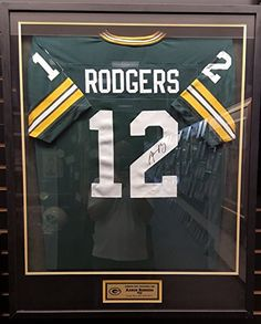 bea828e29 DIY frame a sports jersey with a shadow box from Michaels. This is a ...