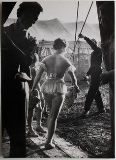 Erich Einhorn - Circus dancer, 1958