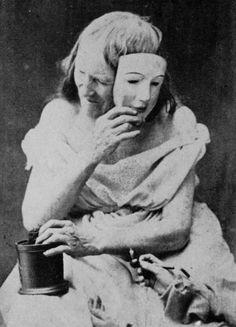 The Goddess Nicotina,                             Oskar Gustav Rejlander,1856-59