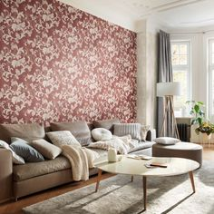 Florentine 2 Rasch Tapete Vliestapete The post Florentine 2 Rasch Tapete Vliestapete appeared first on Tapeten ideen. Home Design, Cozy Living, Living Room, Decorating Your Home, Interior Decorating, Interior Styling, Interior Design, Wallpaper S, Wallpaper Ideas