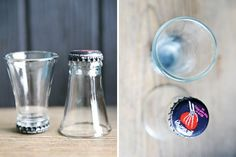 Beer Bottle Shot Glasses #beerbottle