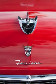 1956 Ford Fairlane Hood Ornament by Jill Reger..Re-Pin Brought to you by #CarInsurance Agents at #houseofinsurance in Eugene, Or.