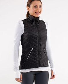 Ride on Vest from Lu Lu Lemon.  Nice hourglass fit with herringbone quilting.