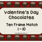 I'm spreading the love with this delicious Valentine's Day FREEBIE! Valentine's Day Chocolates - Ten Frame Match * Match the ten frame ch. Kindergarten Freebies, Teacher Freebies, Kindergarten Math Activities, Autism Activities, Fun Math, Teaching Resources, Ten Frame Activities, Winter Activities, Valentines Day Chocolates