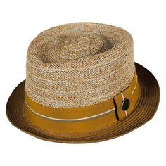 e0eae56057f Julito Callazo Toyo Pork Pie Hat ❤ liked on Polyvore featuring accessories