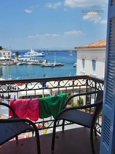 Seaview Balcony, Alexandris Hotel, #Spetses
