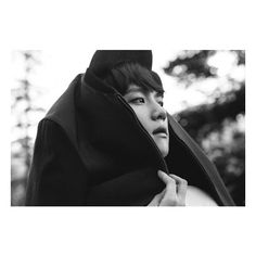 Lights flicker as Baekhyun runs through the streets of Lyon in teaser... ❤ liked on Polyvore featuring exo