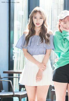 Reject the Binary K Pop, Asian Woman, Asian Girl, White Tennis Skirt, Cheng Xiao, Wattpad, Batik Dress, Cosmic Girls, Korean Celebrities