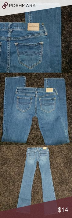 Abercrombie KIDS jeans Girls size 12 Abercrombie jeans ' cute stretch ' good condition! Abercombie Kids Bottoms Jeans