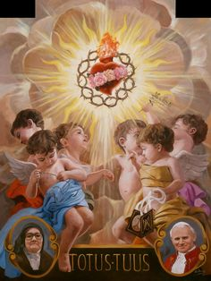 Through Him and with Him and in Him O God almighty Father, in the unity of the Holy Spirit, all glory and honour is yours, forever and ever. Catholic Art, Catholic Saints, Religious Art, Religious Pictures, Jesus Pictures, Blessed Mother Mary, Blessed Virgin Mary, Jesus E Maria, Mama Mary