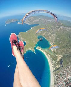 Paragliding - DONE 08/16 in olu deniz Turkey Fantastic, would do it again given the chance :)