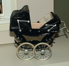 Doll House Artist made Twin Pram / Baby Carriage 1:12 scale Made In UK | eBay
