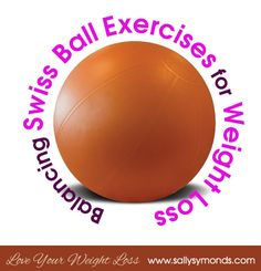 Strengthen your core and stability, try these balancing swiss ball exercises for weight loss to develop a better balance! #weightloss #balance #swissball #exercises