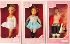 """Our Generation Lori Ballerina Mini Dolls Clara  and Analise Extra Outfit Lot 6"""" #Dolls"""