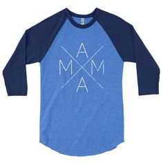 A stylish spin on the classic baseball raglan. The combed cotton blend makes it super soft, comfortable, and lightweight. • ¾ Sleeve raglan shirt • Poly-cotton blend (50% polyester, 50% combed cotton)