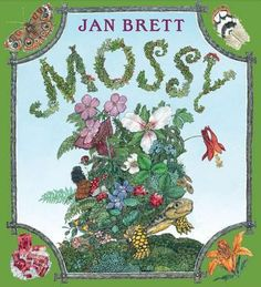 As our collection of Jan Brett books continues to grow, Mossy remains a family favorite. What I love about Jan Brett is she fills the pages of every book with gorgeous, detailed illustrations. Jan Brett, Childrens Gifts, Childrens Books, Kid Books, Kids Gifts, Back Drawing, Pete The Cats, Sequencing Activities, Book Activities