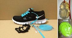 Mens Chalcedony Pendant Dragon Nike Free Run 2 Black White Dynamic Blue Lace