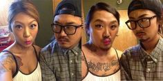 Funny pictures about Korean Clothes Swap. Oh, and cool pics about Korean Clothes Swap. Also, Korean Clothes Swap photos. You Funny, Funny People, Funny Kids, Really Funny, Funny Things, Funny Stuff, Nerdy Things, Random Stuff, Gamer Couple
