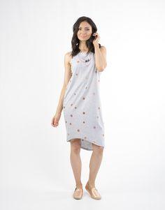 elm - Lifestyle Clothing - Look My Way Dress In Grey Marle