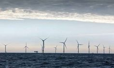 Offshore Turbines By Day...