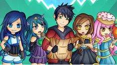 214 Best Funneh And The Krew Images In 2020 Youtube Art Aphmau