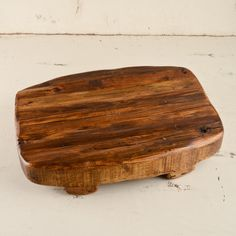Europe 2 You Large Rectangle Reclaimed Wood Trivet