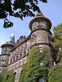 Książ (Schloss Fürstenstein) - a castle in Silesia.