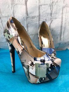 32c7ff74d6 BERTINNI Perfume Bottles Stilettos High Heel Shoes Sexy Size 7 | Clothing,  Shoes & Accessories, Women's Shoes, Heels | eBay!