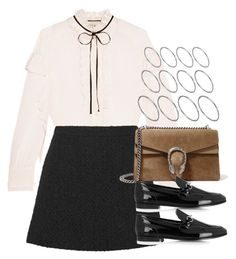 """""""Style #10810"""" by vany-alvarado ❤ liked on Polyvore featuring Gucci and ASOS"""