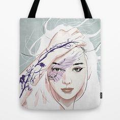 awake Tote Bag by SEVENTRAPS | Society6