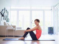 Plus de 1000 id es propos de abdos femme sur pinterest - Gym avec une chaise bernadette de gasquet ...
