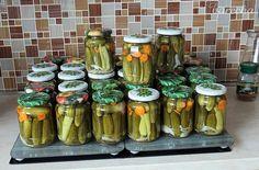 Sladko-kyslý nálev na uhorky - recept   Varecha.sk Pickles, Cucumber, Stuff Stuff, Vegetables, Pickle, Zucchini, Pickling