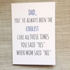 Funny Cheeky Fathers Day Card By PipAndElwood On Etsy Birthday Cards For Dad Father