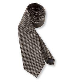 $12 Men's Bean's Wool Tie, Plaid: Accessories   Free Shipping at L.L.Bean